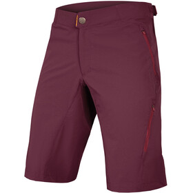 Endura SingleTrack Lite II 500 Series Shorts Men with Liner mulberry